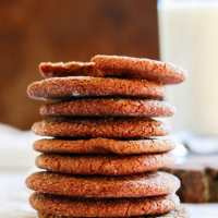 Soft Ginger Snap Cookies - A Family Heirloom!