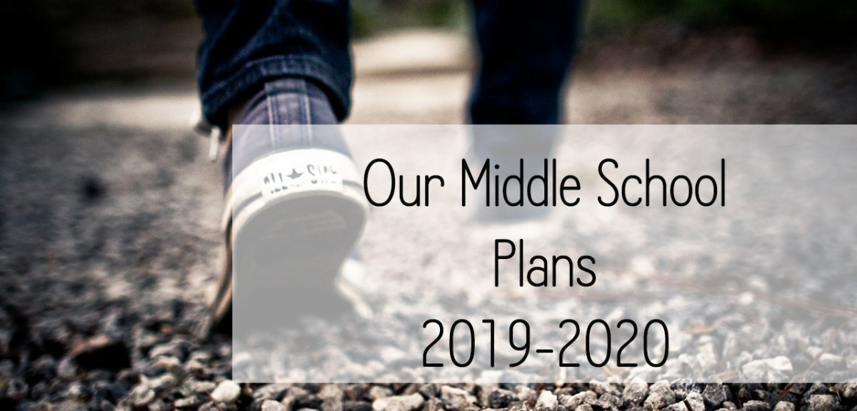 Our Middle School Plans 2019-2020