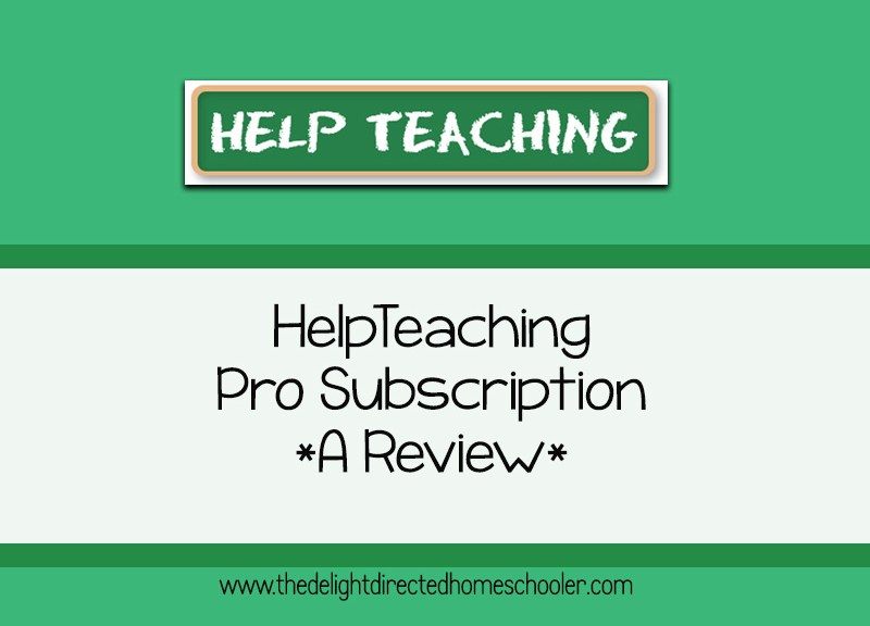 Help Teaching Pro Subscription- A Review