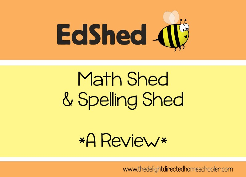 Math Shed and Spelling Shed- A Review