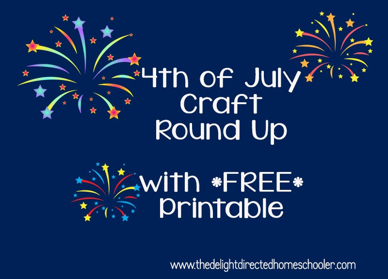 Fourth of July Craft Round Up