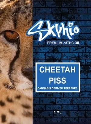 Delta 8 THC Vape Skyhio Cheetah Piss CDT 1