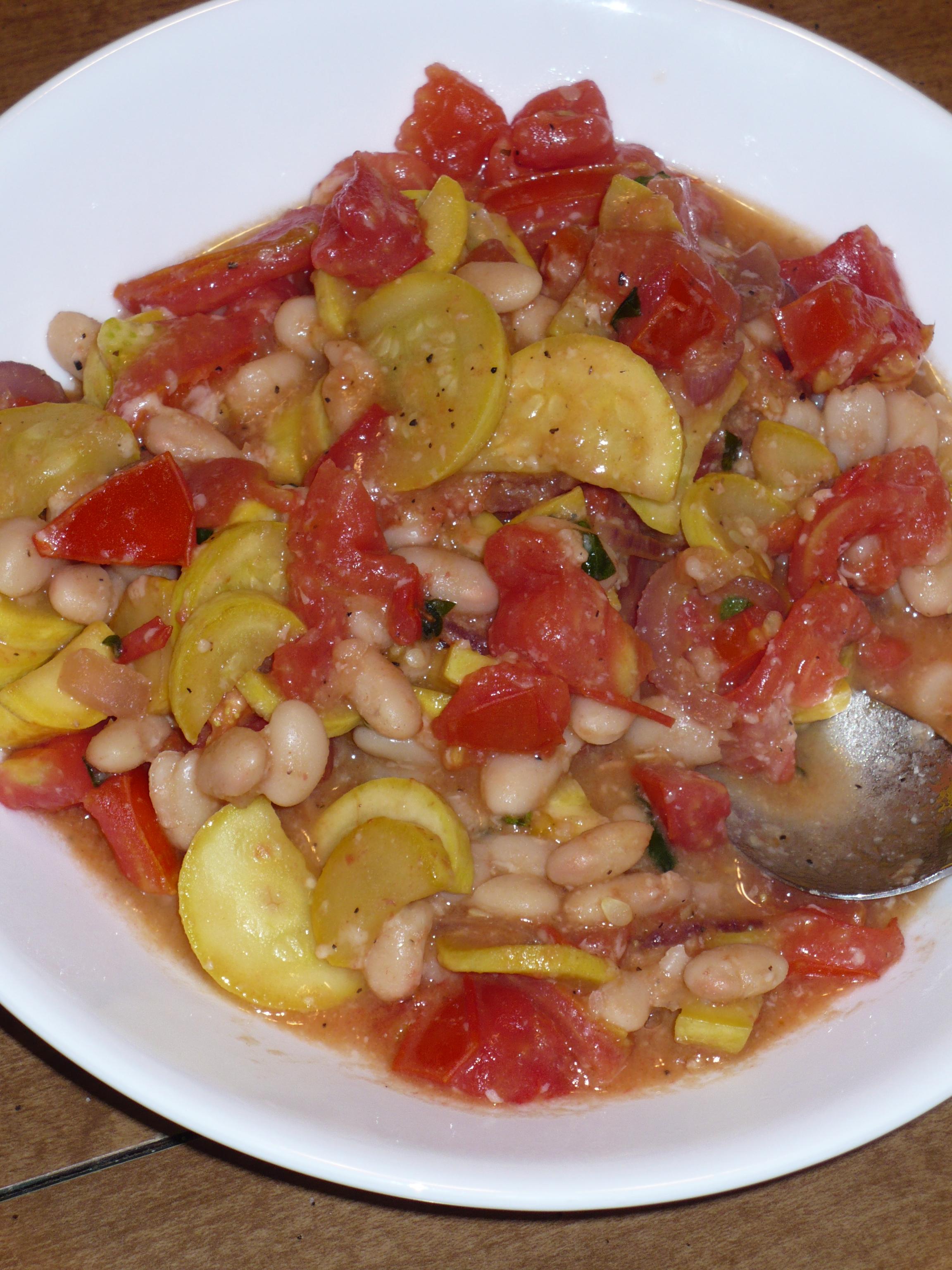 Squash & Bean Saute