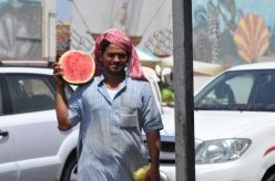 watermelon on the street