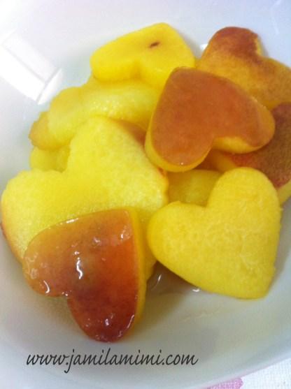 nectarine hearts