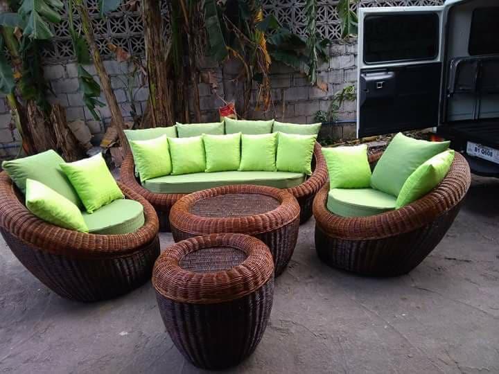 Customized rattan furniture in Metro Manila