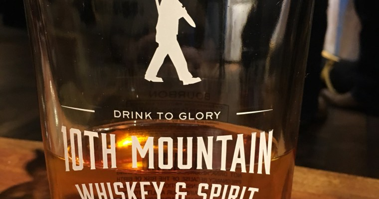 Drinks at 10th Mountain Whiskey & Spirit Company