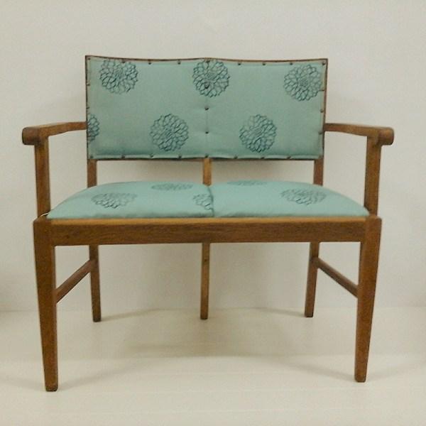 Oak Double Chair