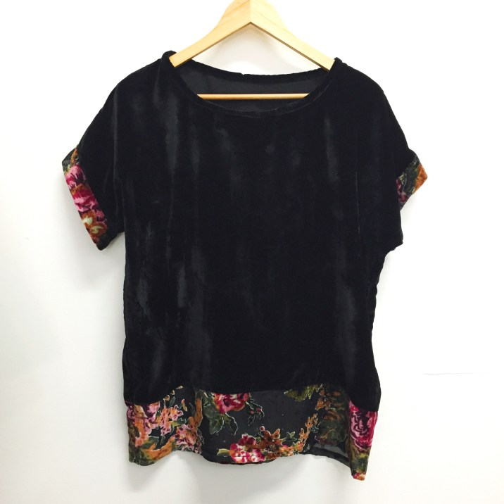Velvet Top - Little Birdie Clothing