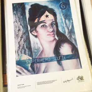 Superhero Selfie Print - Fat Spatula