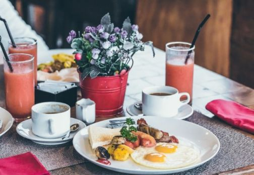 Start your day with a hearty breakfast