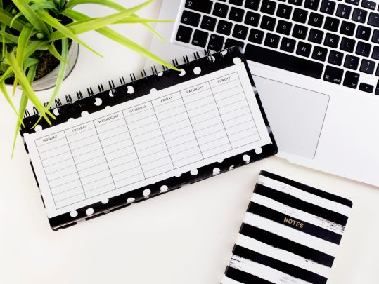 Make your List - Organise your schedule