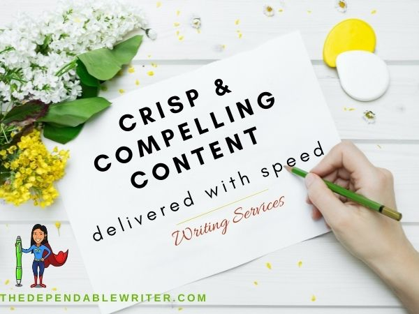 TheDependableWriter's Writing Services