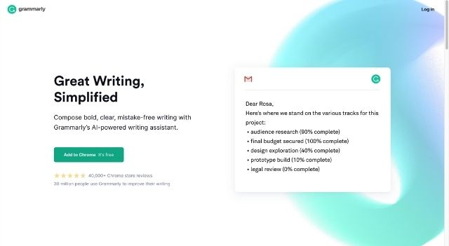 Grammarly Free Online Writing Assistant
