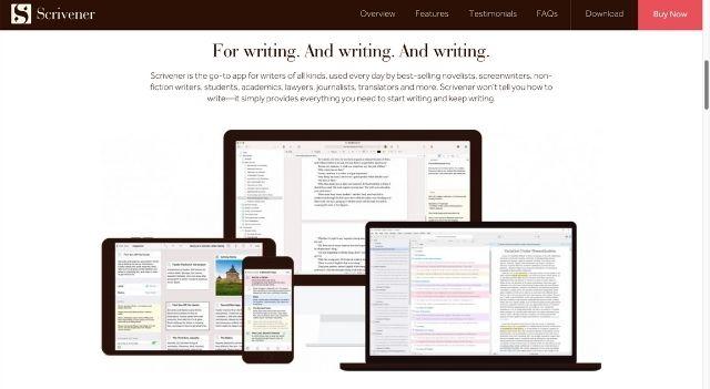 Scrivener Writing and Editing