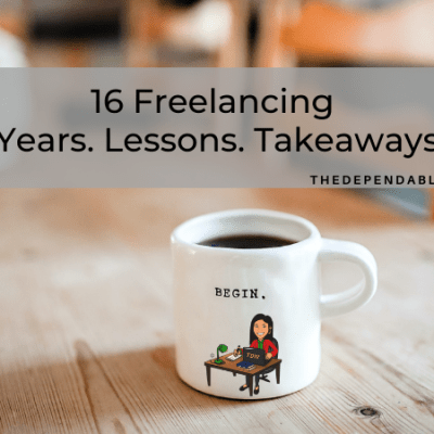 16 Lessons Learned from 16 Years of Freelancing