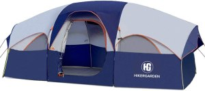 HIKERGARDEN Tent 8 Person Camping Tents