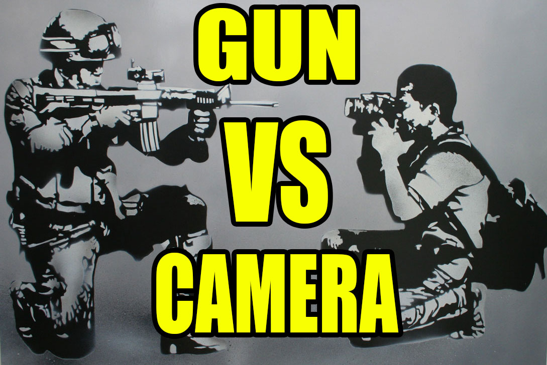 Camera Still More Effective Than Guns | COPBLOCK RADIO