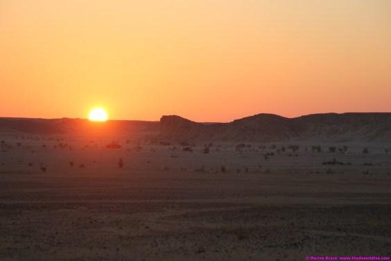 Sunset 22.12.14 Wadi Aydam