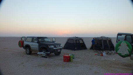 Last camp 26.12.14 - near Haima
