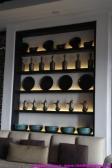 Traditional goods displayed in a modern way