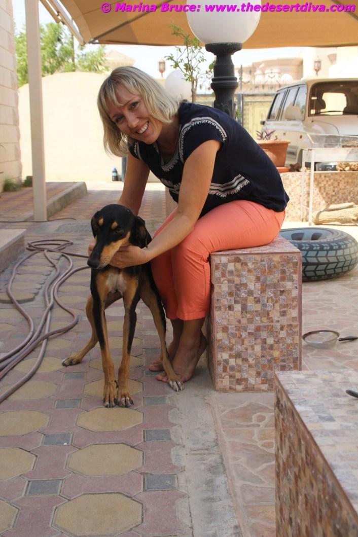 Marcela Labanova with Sally