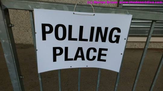 We were able to cast our votes in the referendum - at the last address we were registered to.