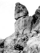 "Death Valley, Ryan. Poison Rock, ""One drop kills"" - Courtesy National Park Service, Death Valley National Park"
