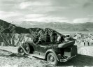 Cadillac at Zabriskie Point - Courtesy National Park Service, Death Valley National Park
