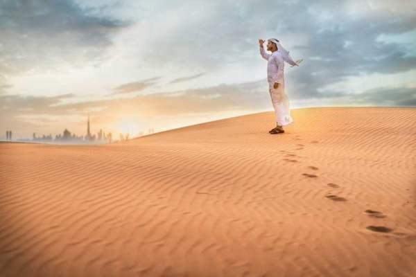 Dubai Desert in Morning