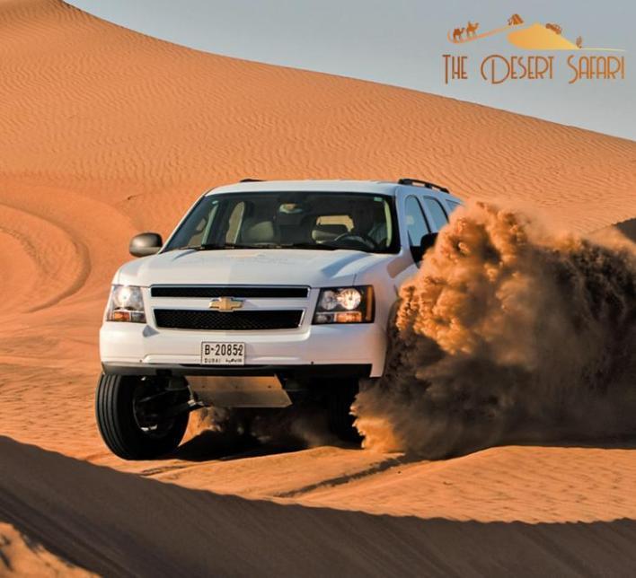 Chevrolet Tahoe for Dubai Safari