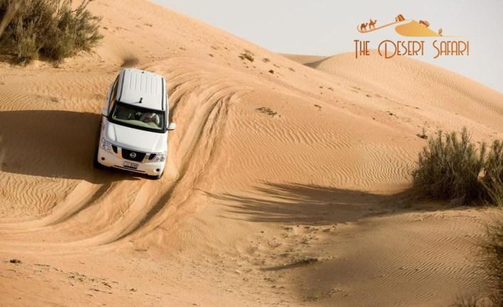 Nissan Patrol for Desert Safari Dubai