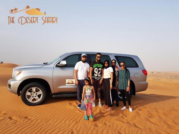 Toyota Sequoia for Off Roading in Dubai