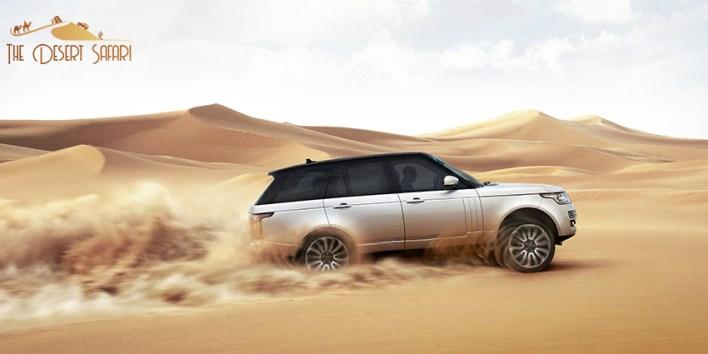 Land Rover for Desert Safari in Dubai