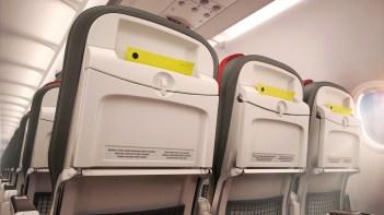 Recaro Seat detail Airbus short-haul fleet