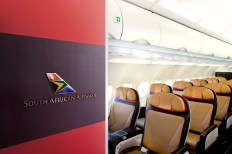 PG_SAA_Entrance and Business Class_photo of finished cabin