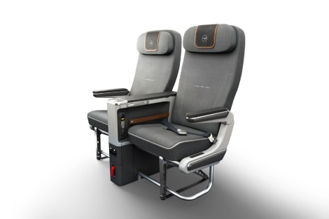 Premium Economy Double Seat front view
