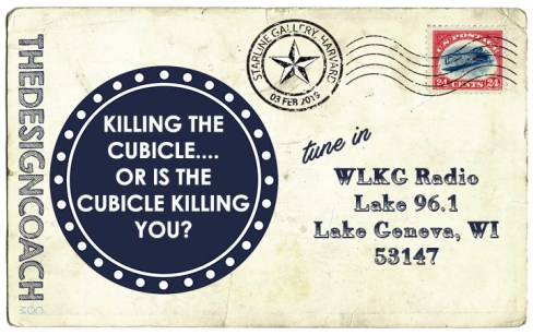 02.03 KILLING THE CUBICLE OR IS THE CUBICLE KILLING YOU