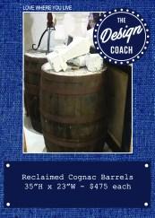 cognac barrel POP