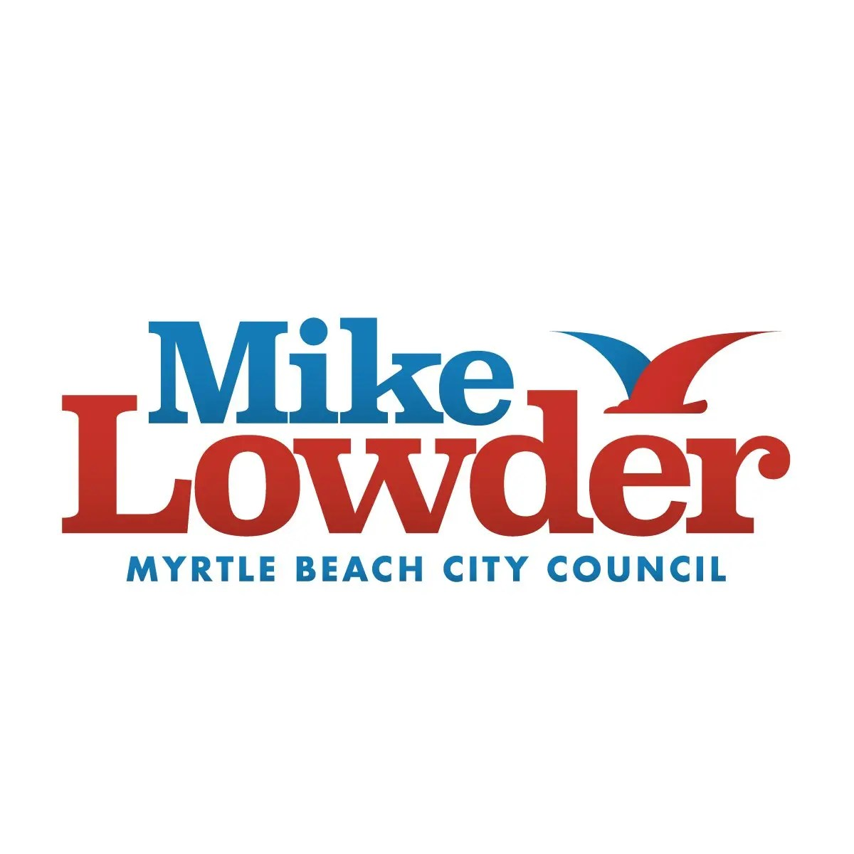 Mike Lowder - Myrtle Beach City Council Logo design by Design Cypher