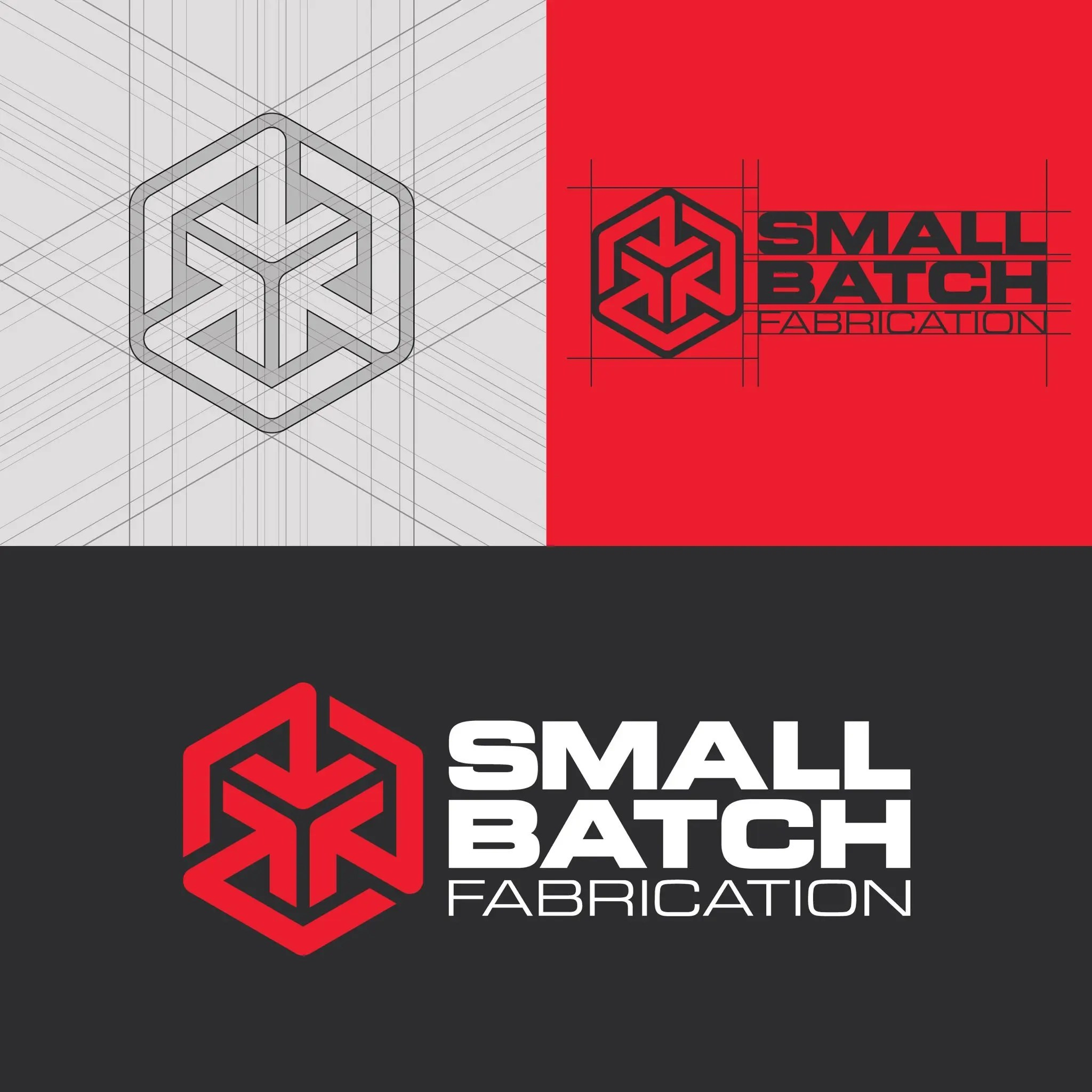 Small Batch Fabrication Brand Logo Design By Design Cypher