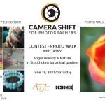 Contest – Photo Walk med uppgifter – Angel Jewelry och natur i Sthlms botaniska trädgårdar