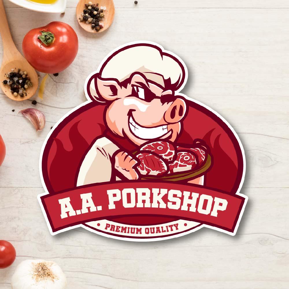 โลโก้ A.A. PorkShop