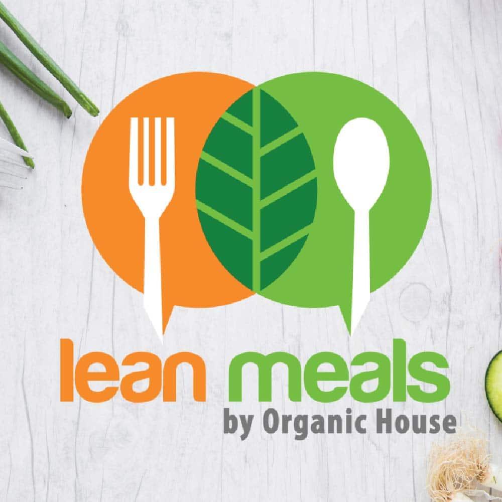 โลโก้ Lean Meals by Organic House