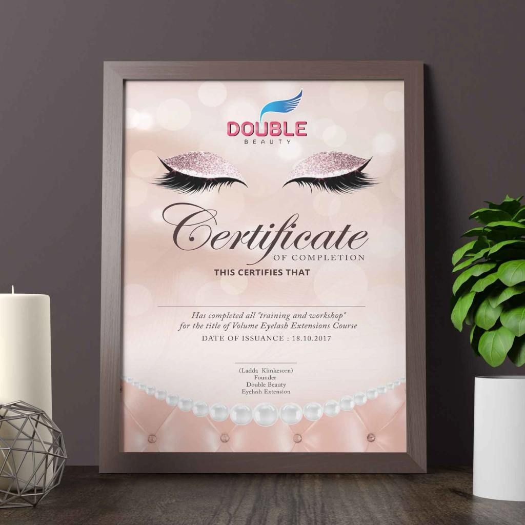 Certificate Double