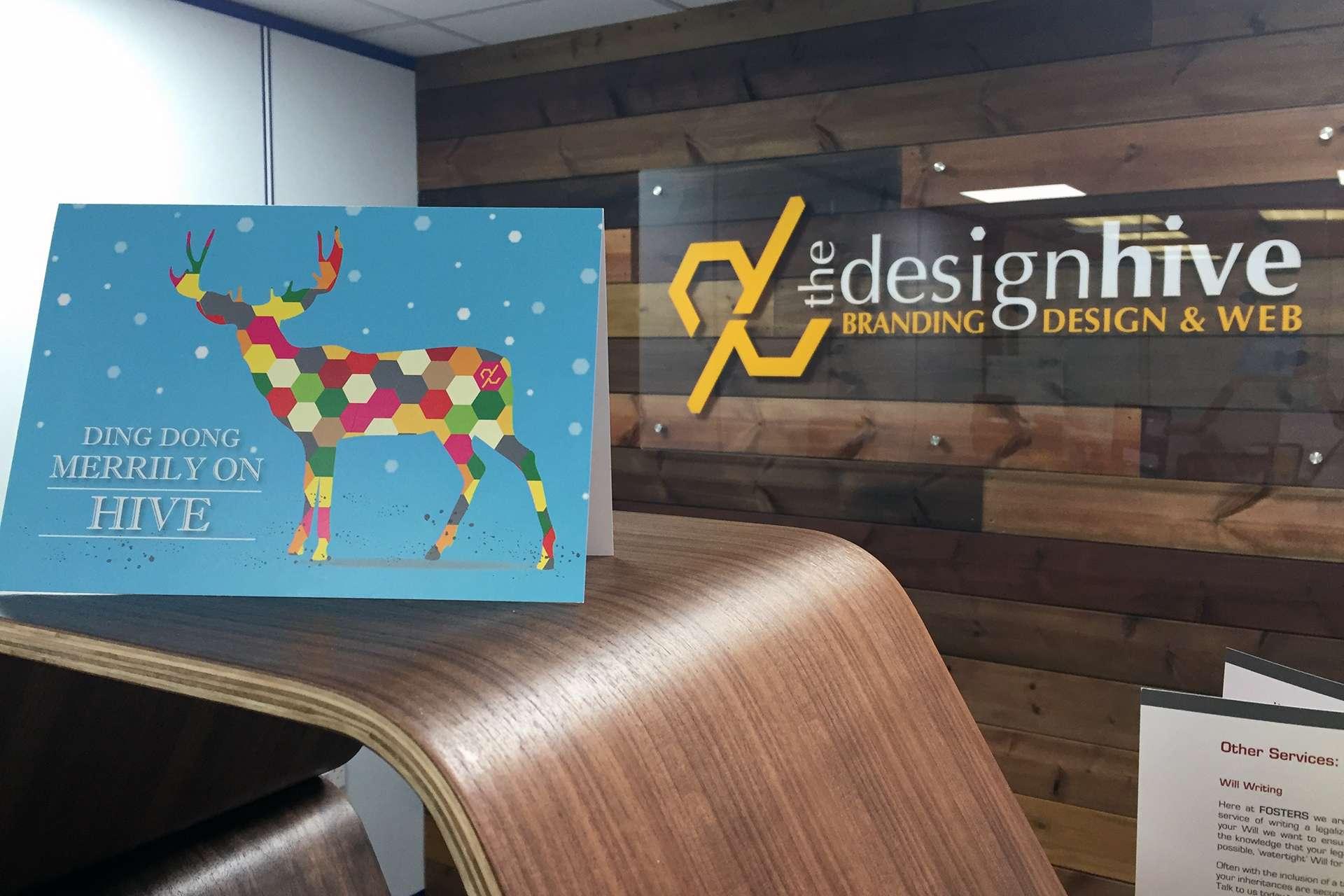 The Design Hive Christmas Card Design
