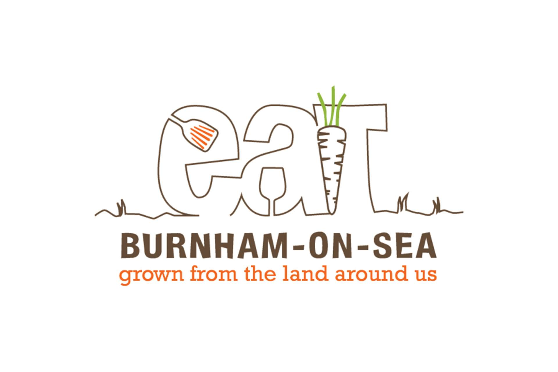 Eat Festivals Food Logo Design, Burnham-on-Sea, Somerset