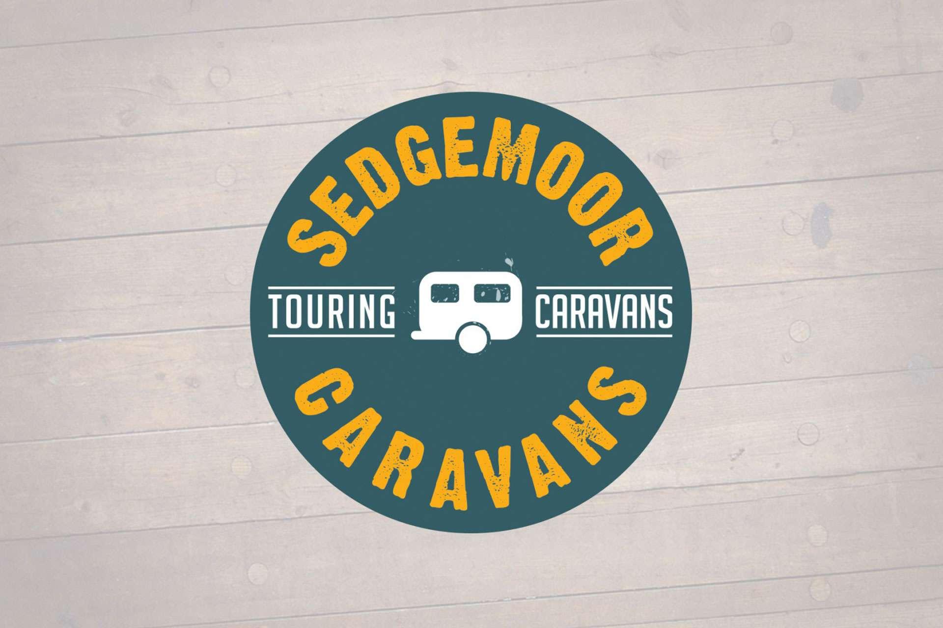 Sedgemoor caravans logo design