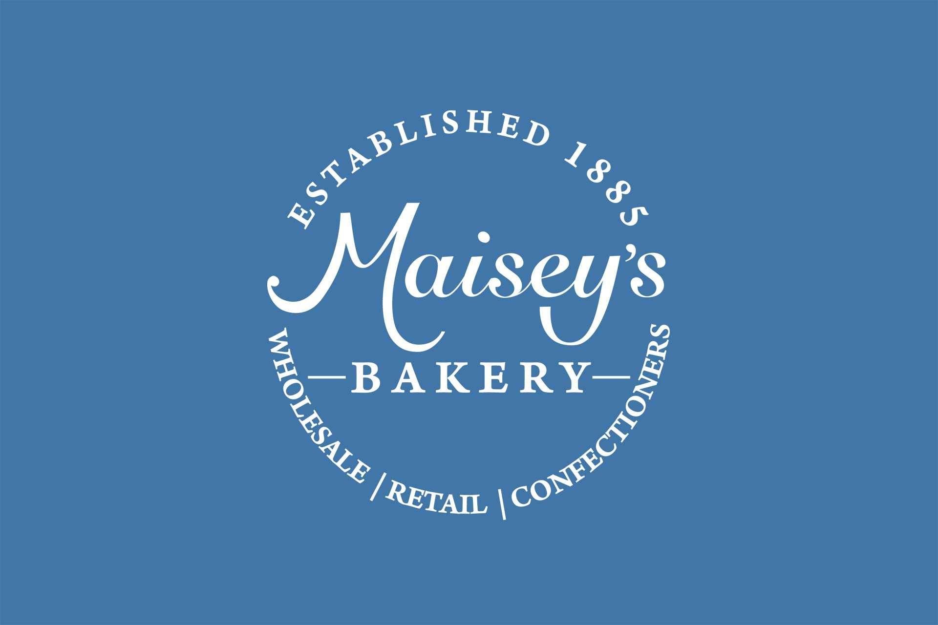 Maisey's Bakery logo design, Highbridge, Somerset