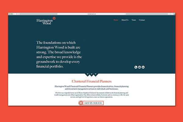 Website design for financial planners in Bath, Somerset